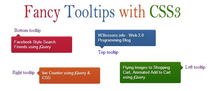 ایجاد tooltip