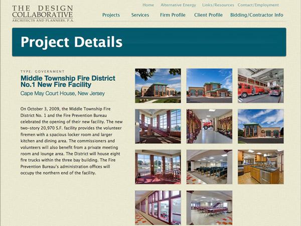 جزئیات طراحی سایت