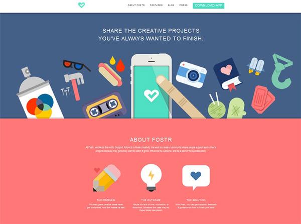 طراحی سایت فلت