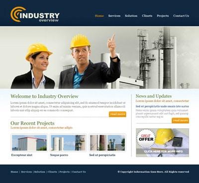 طراحی سایت صنعتی با جوملا