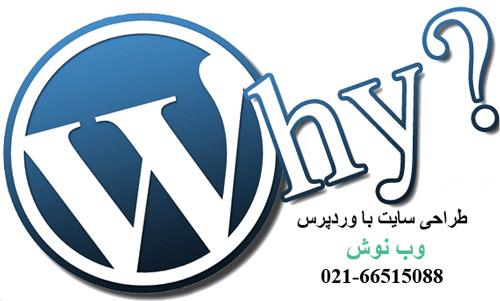چرا طراحی سایت با وردپرس
